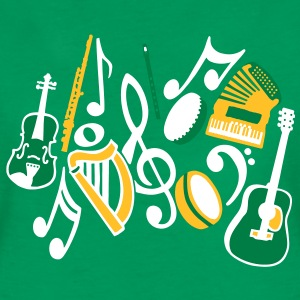 irish-musical-instruments-t-shirts-womens-premium-t-shirt